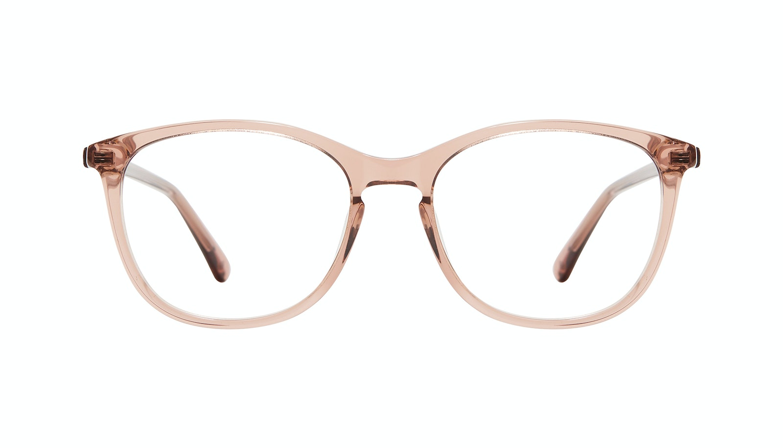 Affordable Fashion Glasses Rectangle Square Round Eyeglasses Women Nadine XL Rose