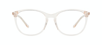 Affordable Fashion Glasses Rectangle Square Round Eyeglasses Women Nadine Prosecco Front