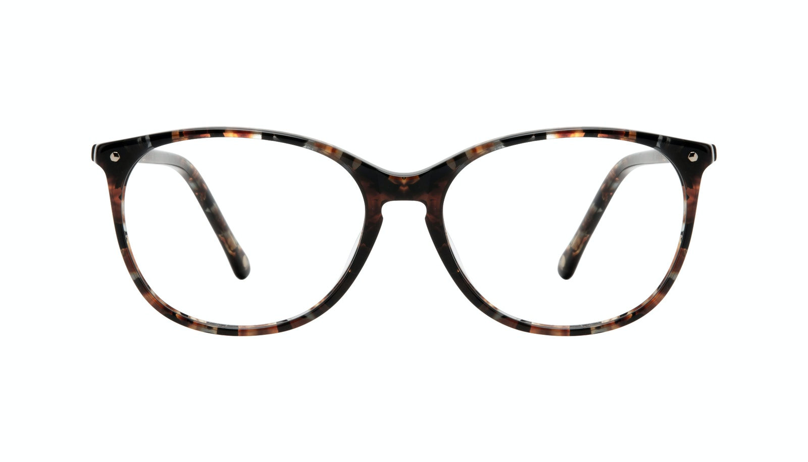 Affordable Fashion Glasses Rectangle Square Round Eyeglasses Women Nadine Sepia