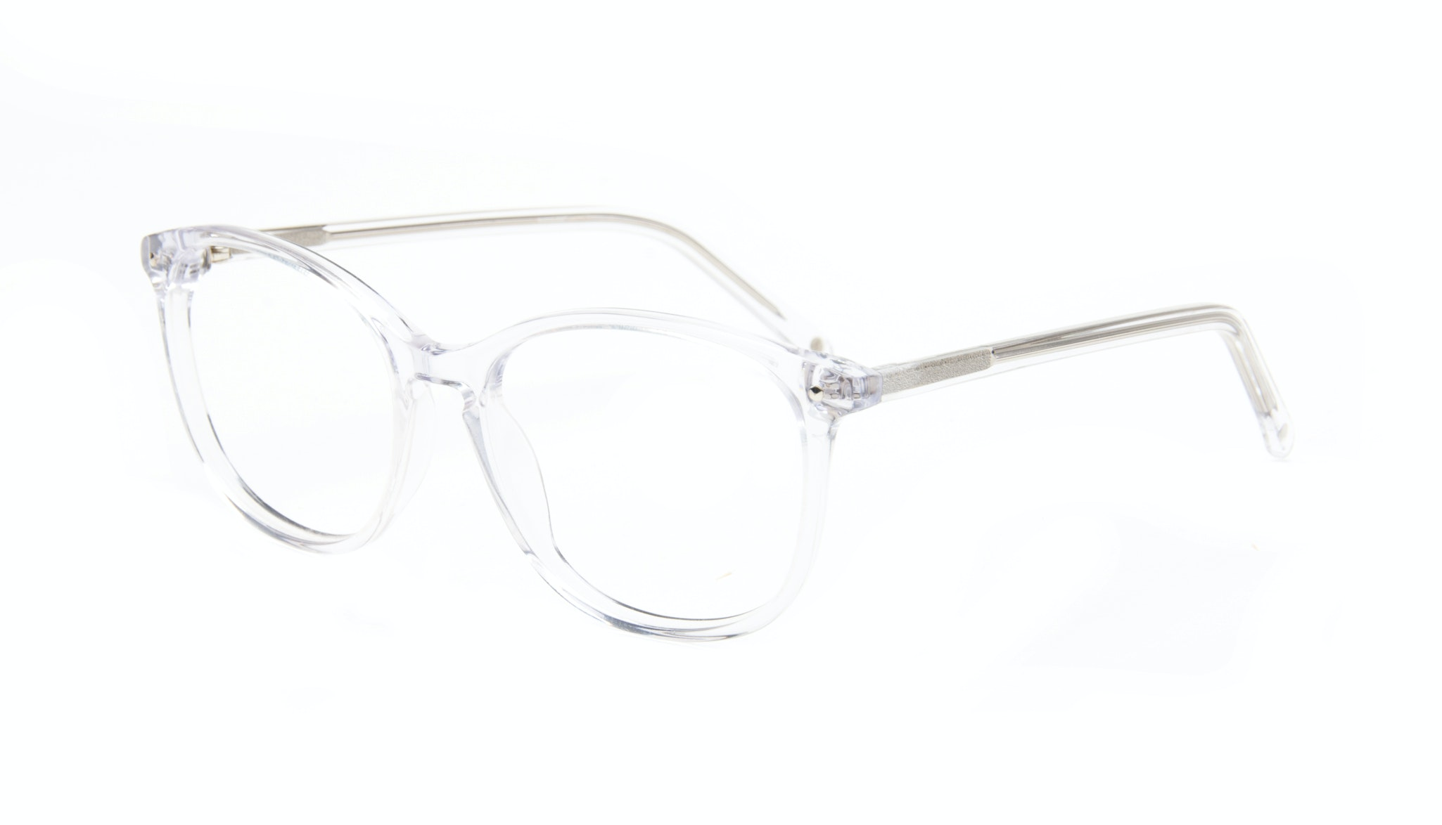Affordable Fashion Glasses Rectangle Round Eyeglasses Women Nadine Water Tilt