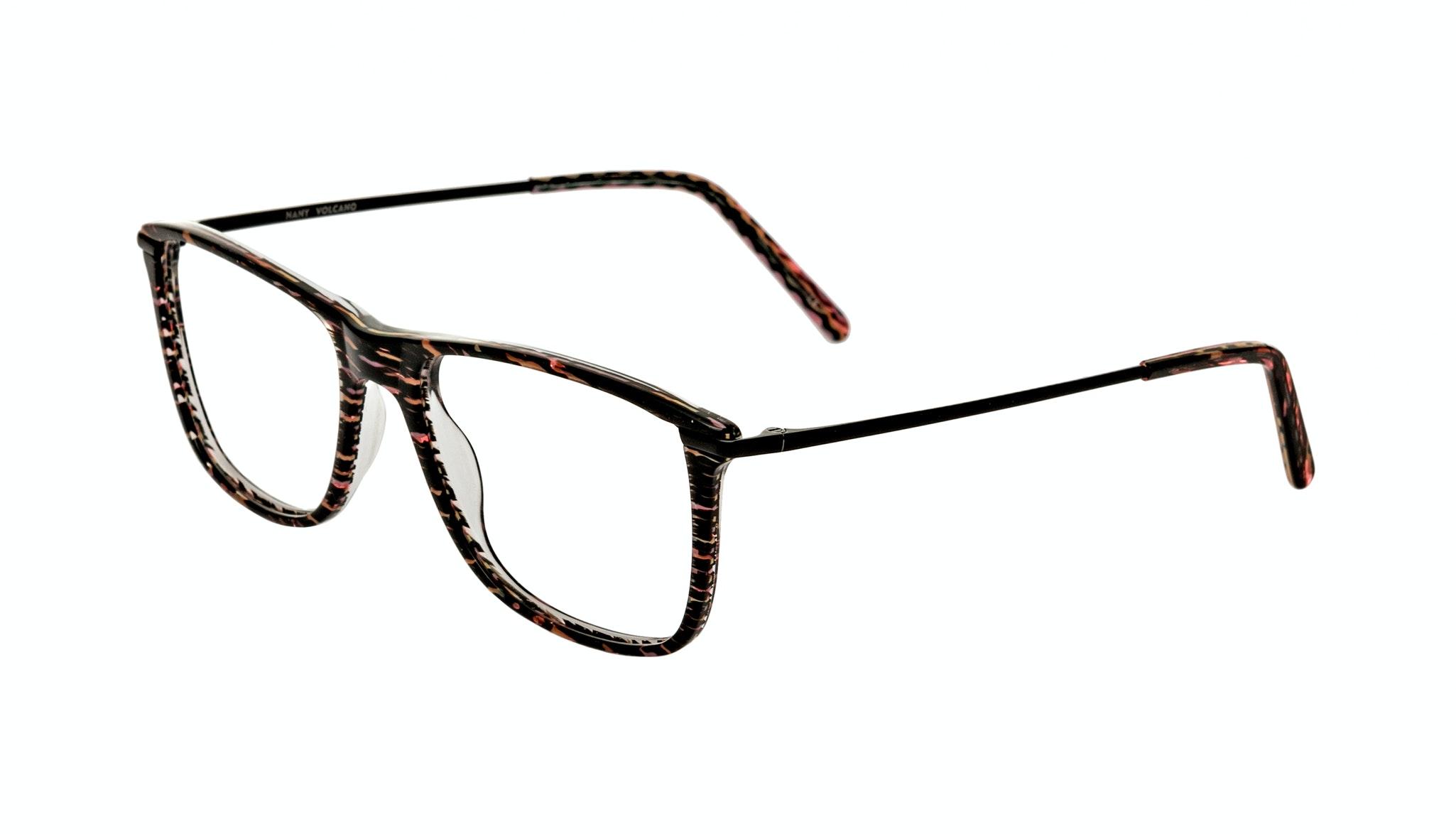 Affordable Fashion Glasses Rectangle Eyeglasses Women Nany Volcano Tilt