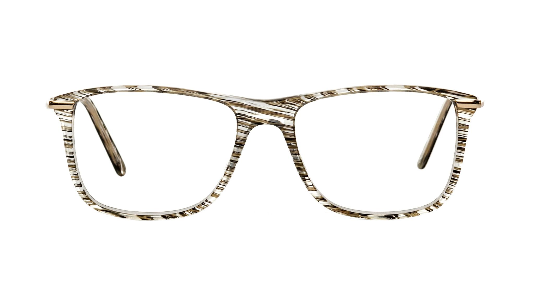 Affordable Fashion Glasses Rectangle Eyeglasses Women Nany Black Desert Front
