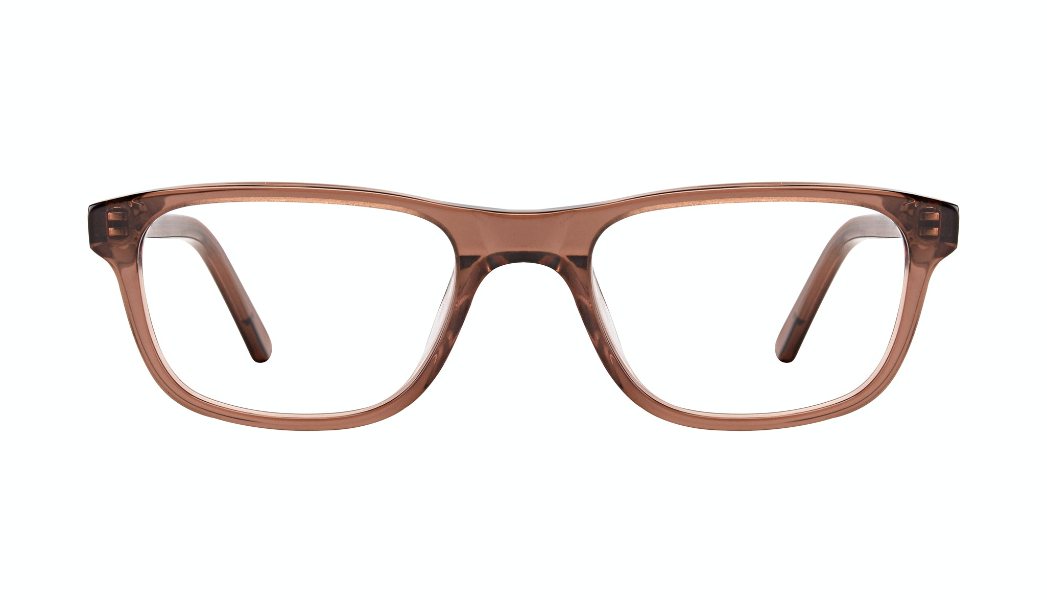 Affordable Fashion Glasses Rectangle Eyeglasses Men Neat Terra Front