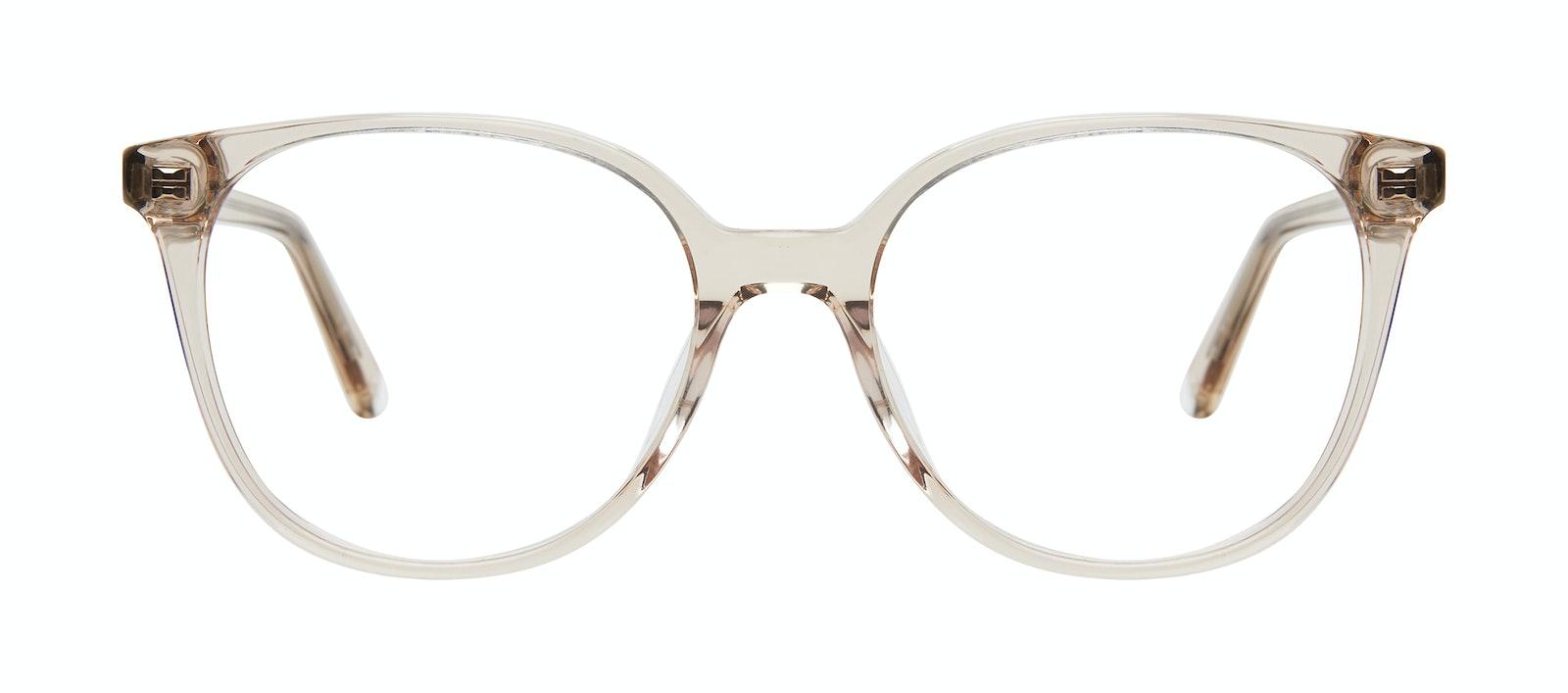 Affordable Fashion Glasses Square Eyeglasses Women Novel Blond Front