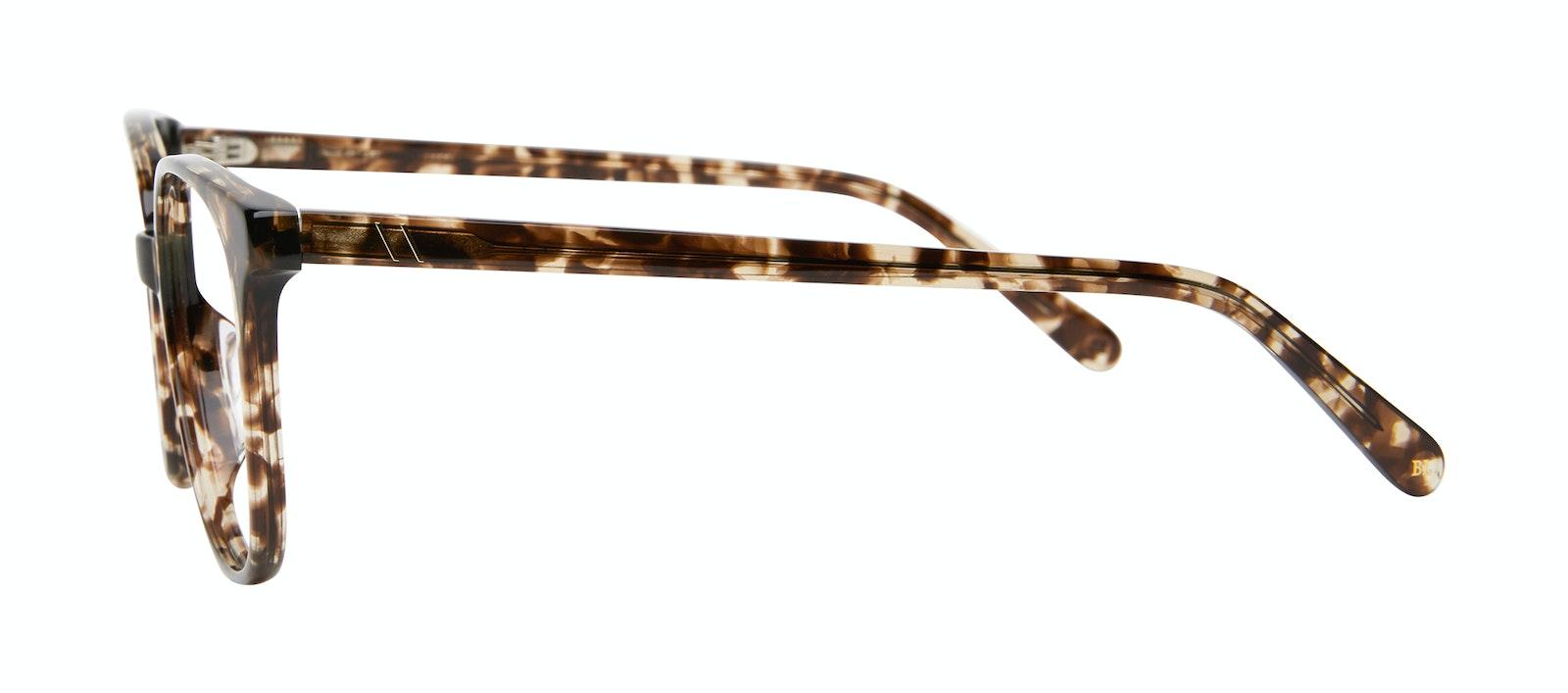 Lunettes tendance Carrée Lunettes de vue Femmes Novel Leopard Profil