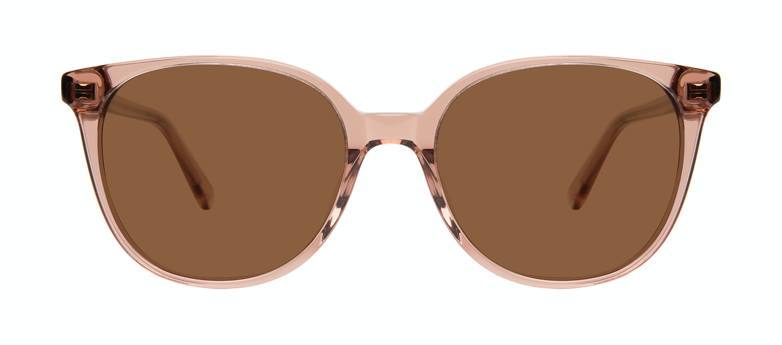 Affordable Fashion Glasses Square Sunglasses Women Novel Rose Front