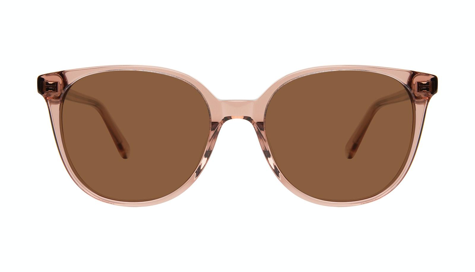 Affordable Fashion Glasses Square Sunglasses Women Novel Rose