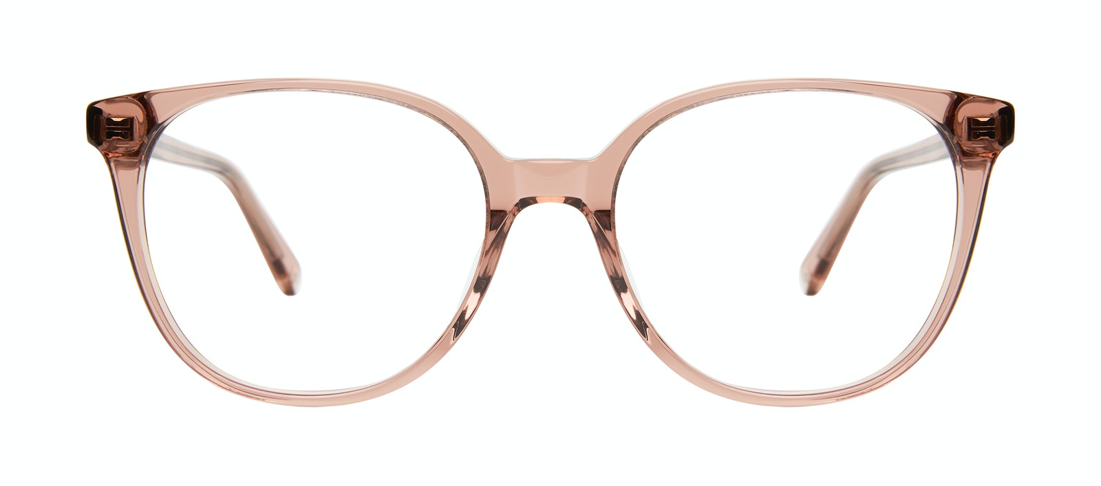 Affordable Fashion Glasses Square Eyeglasses Women Novel Rose Front