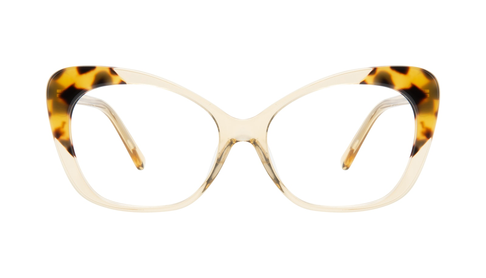 Affordable Fashion Glasses Cat Eye Eyeglasses Women Obvious Golden Tort