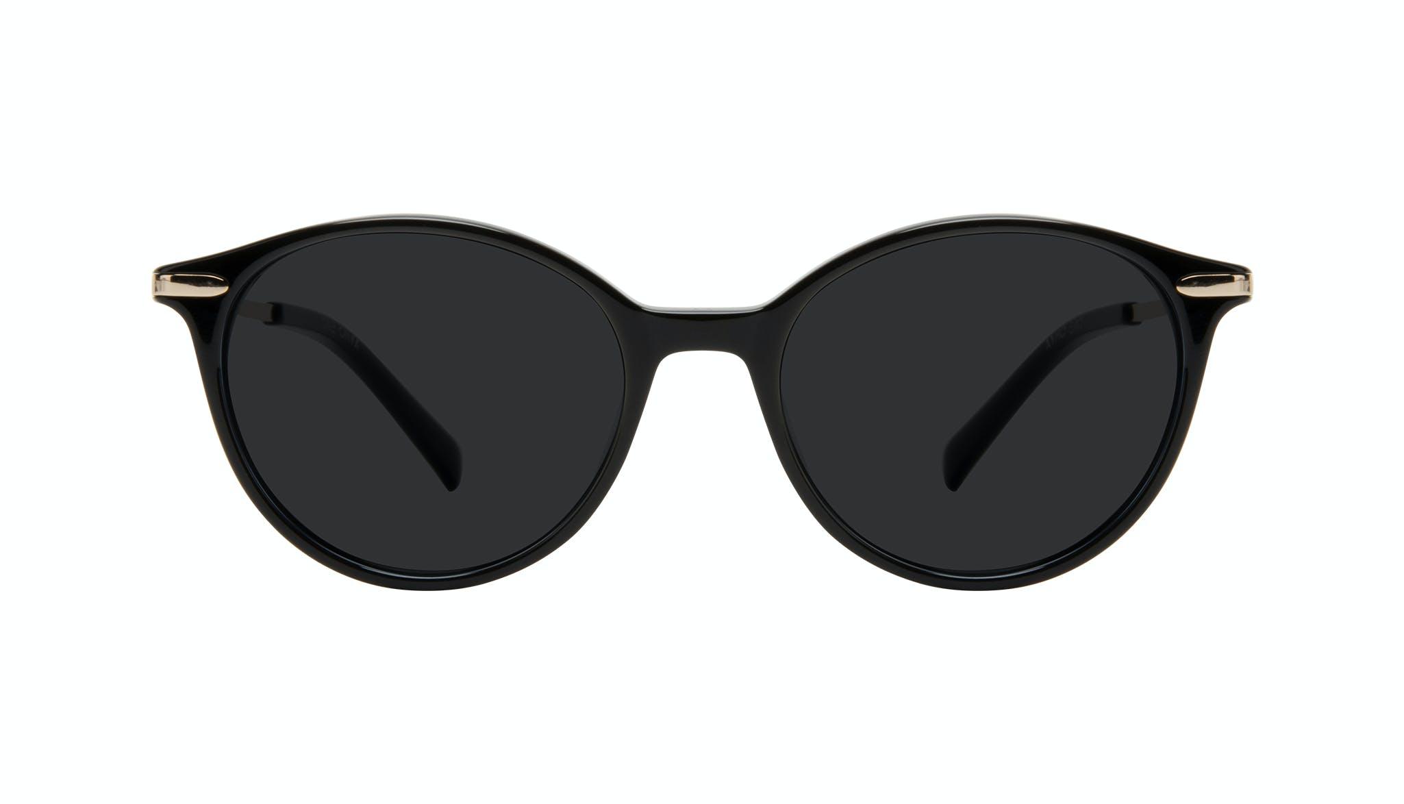 Lunettes tendance Ronde Lunettes de soleil Femmes One Onyx Face