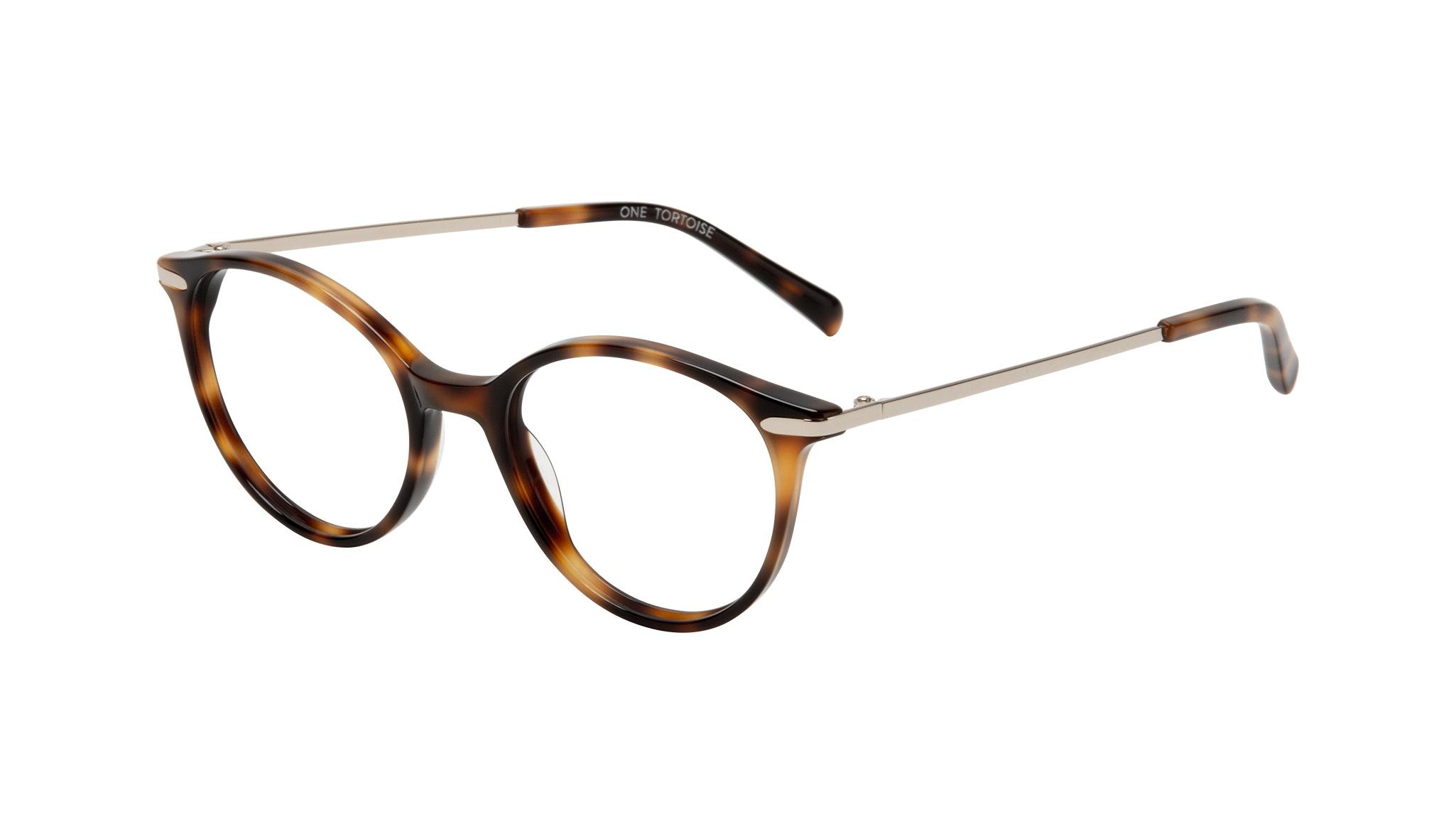 Affordable Fashion Glasses Round Eyeglasses Women One Tortoise Tilt