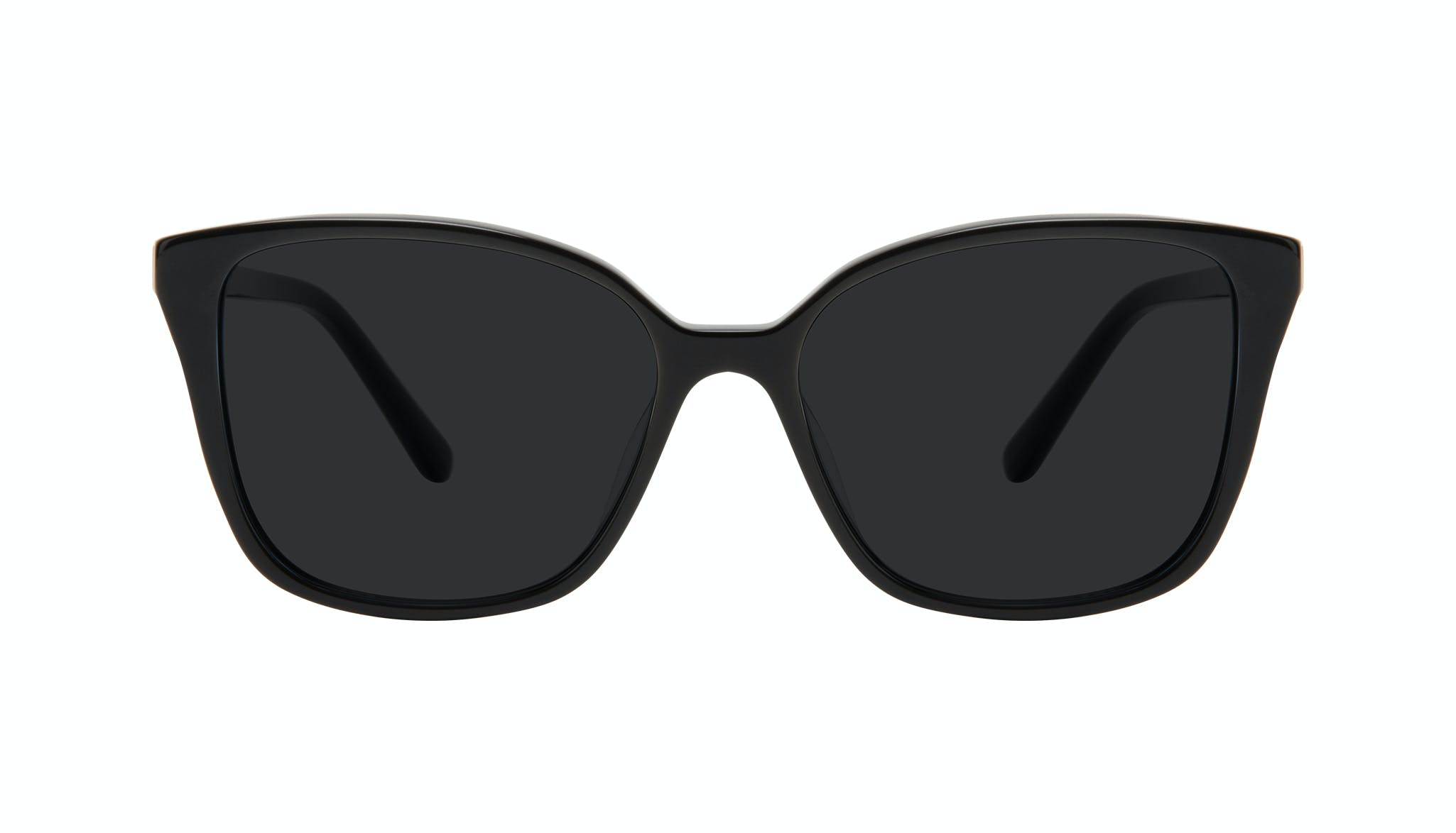 Affordable Fashion Glasses Square Sunglasses Women Only Onyx Front