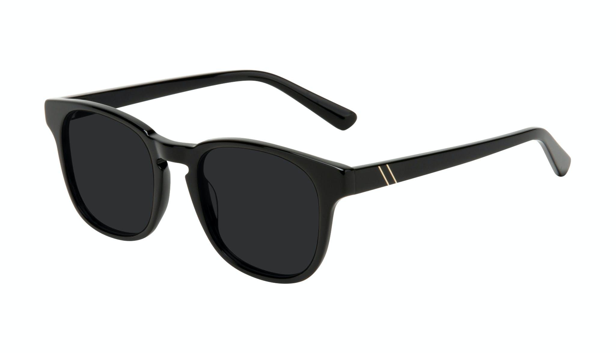 Affordable Fashion Glasses Square Sunglasses Men Outline Black Tort Tilt