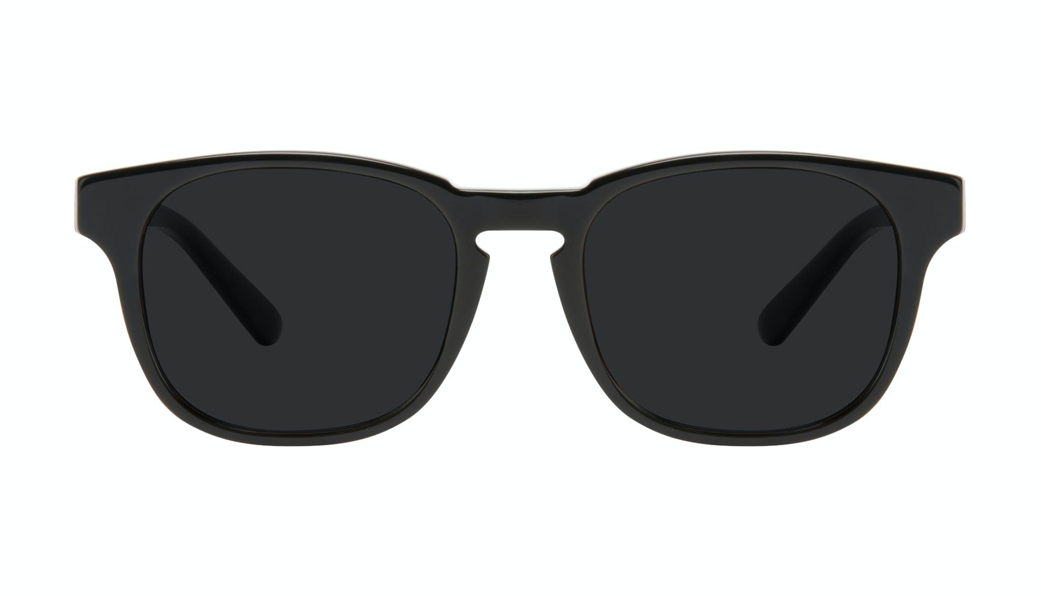 Affordable Fashion Glasses Square Sunglasses Men Outline Black Tort Front