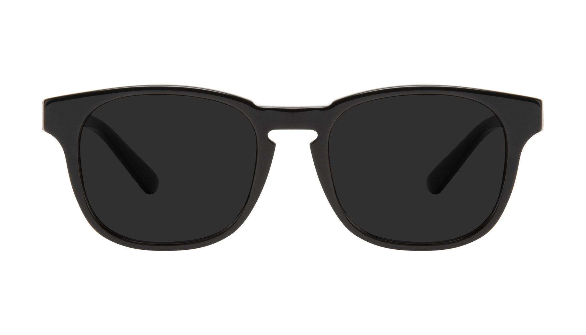 Lunettes tendance Carrée Lunettes de soleil Hommes Outline Black Tort Face