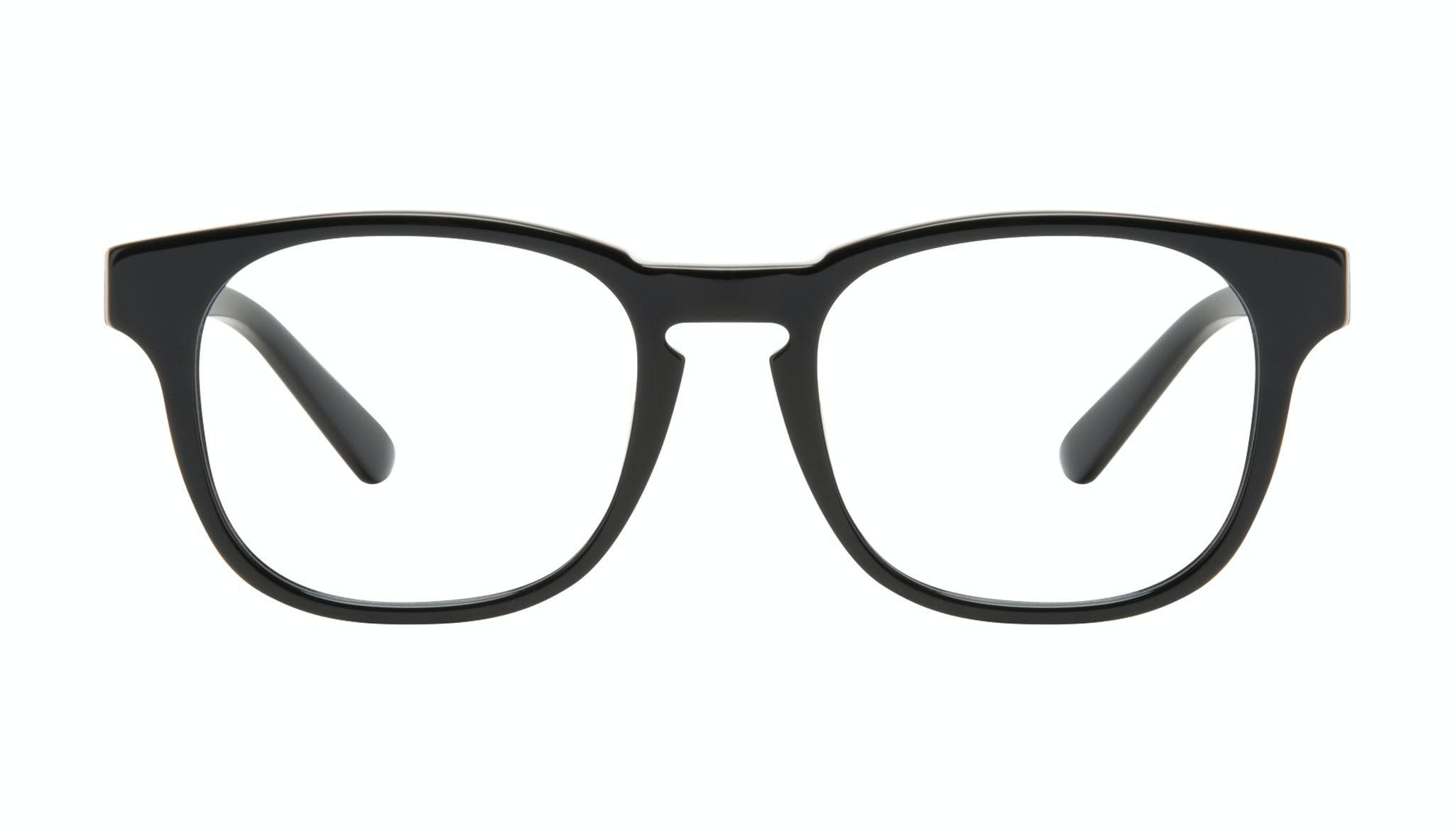 Affordable Fashion Glasses Square Eyeglasses Men Outline Black Tort Front