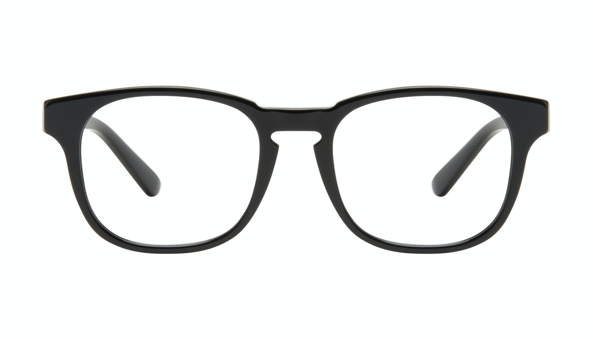 Affordable Fashion Glasses Square Eyeglasses Men Outline Black Tort Front
