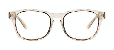 Affordable Fashion Glasses Square Eyeglasses Men Outline Golden Tort Front