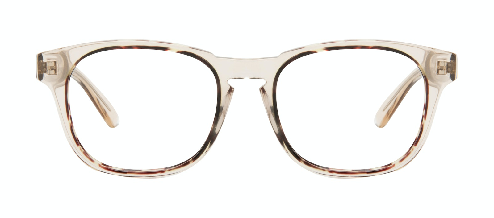 Affordable Fashion Glasses Square Eyeglasses Men Outline Golden Tort Front
