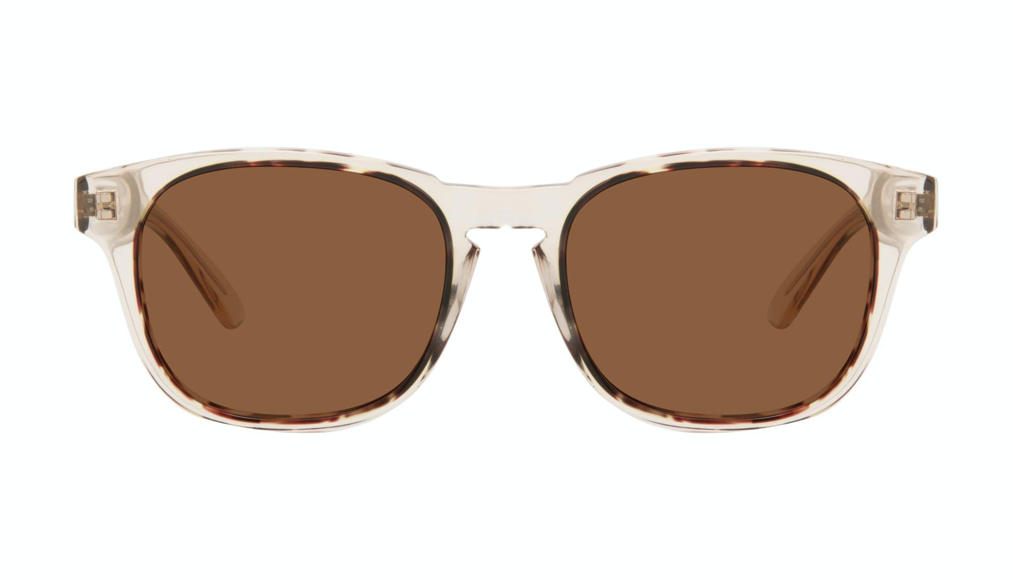 Affordable Fashion Glasses Square Sunglasses Men Outline Golden Tort Front