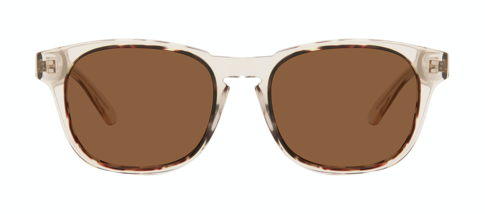 Affordable Fashion Glasses Square Sunglasses Men Outline Golden Tort Front