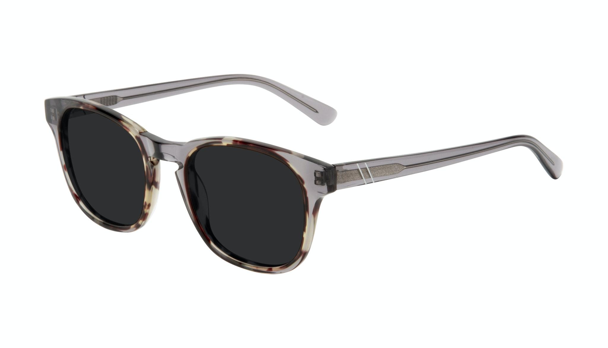 Affordable Fashion Glasses Square Sunglasses Men Outline Smokey Tort Tilt