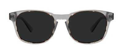 Affordable Fashion Glasses Square Sunglasses Men Outline XL Smokey Tort Front