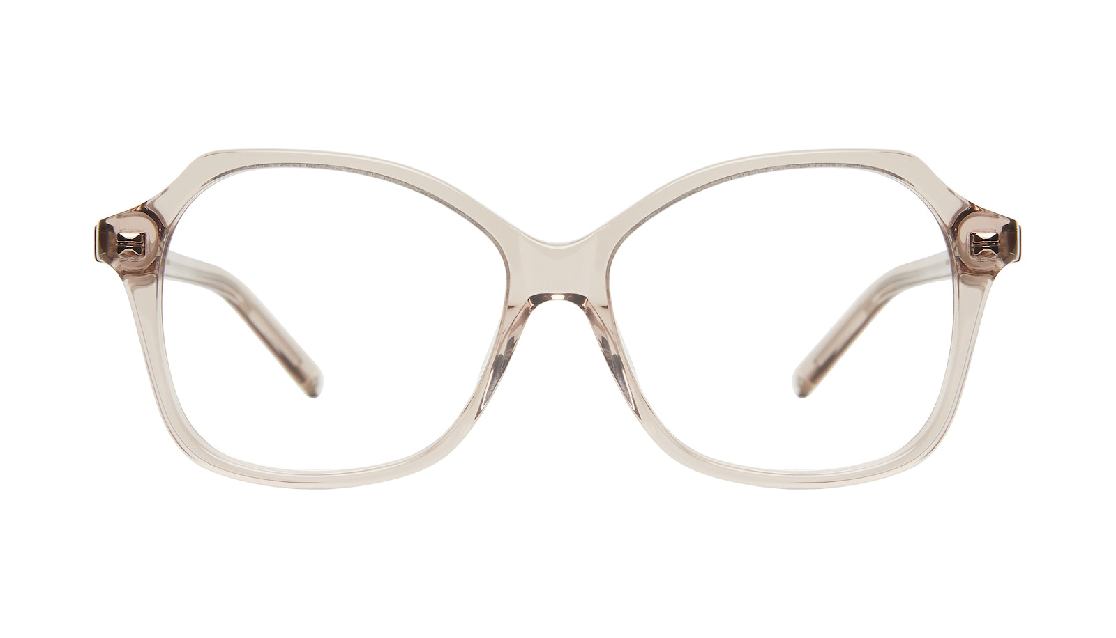 Affordable Fashion Glasses Square Eyeglasses Women Outlook Sand