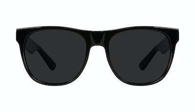 Affordable Fashion Glasses Square Sunglasses Men Palm Onyx Matte Front