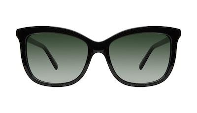 Affordable Fashion Glasses Cat Eye Sunglasses Women Paparazzi Black Front