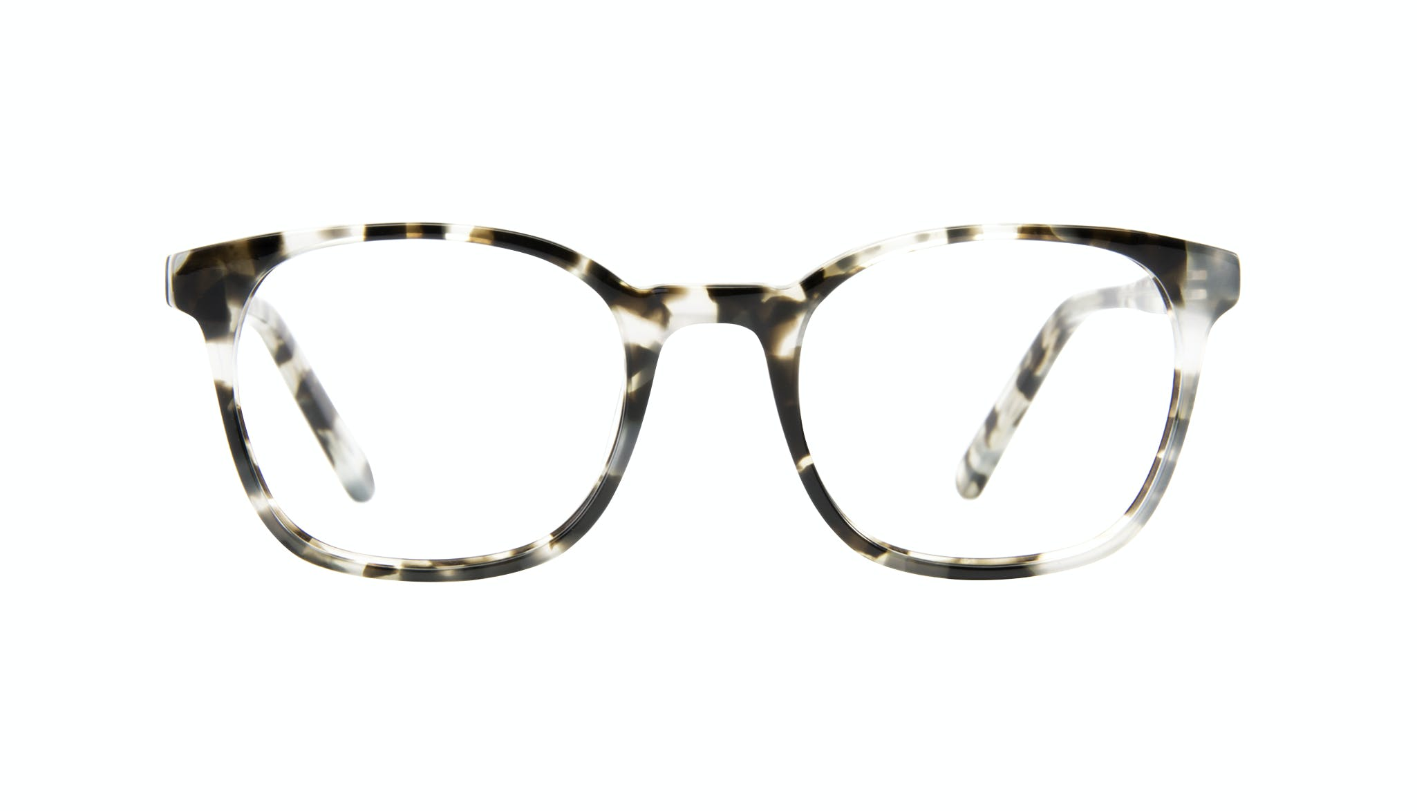 Affordable Fashion Glasses Rectangle Square Eyeglasses Men Peak Camo Tort Front