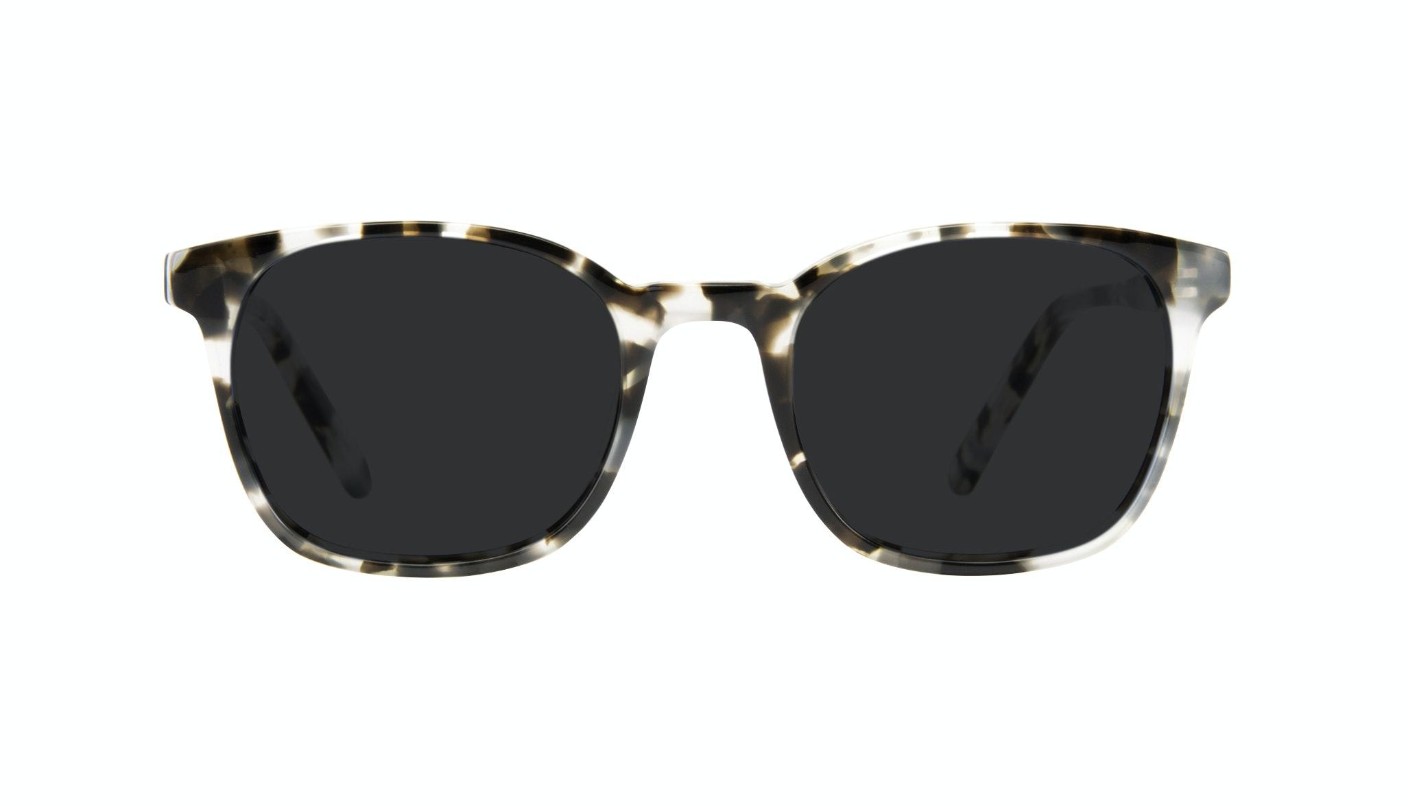 Affordable Fashion Glasses Rectangle Square Sunglasses Men Peak Camo Tort Front