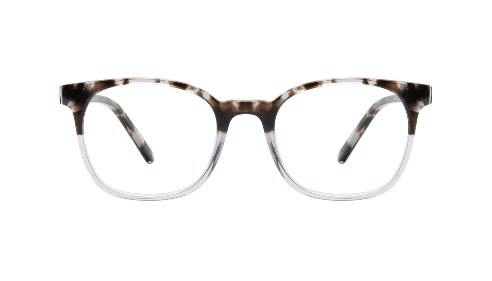 Affordable Fashion Glasses Rectangle Square Eyeglasses Men Peak Mocha Grey