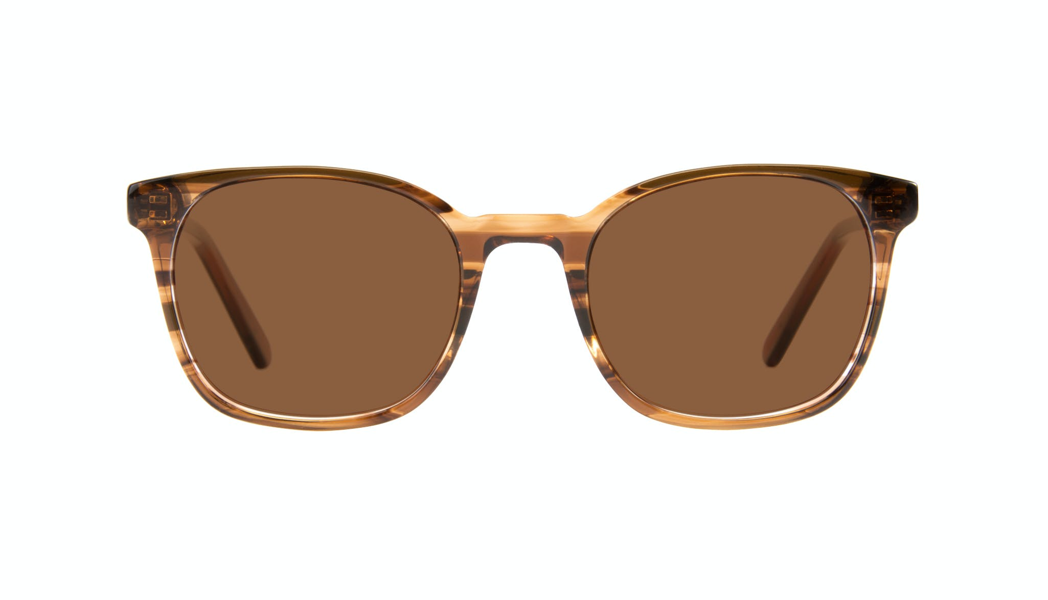 Affordable Fashion Glasses Rectangle Square Sunglasses Men Peak Wood Front