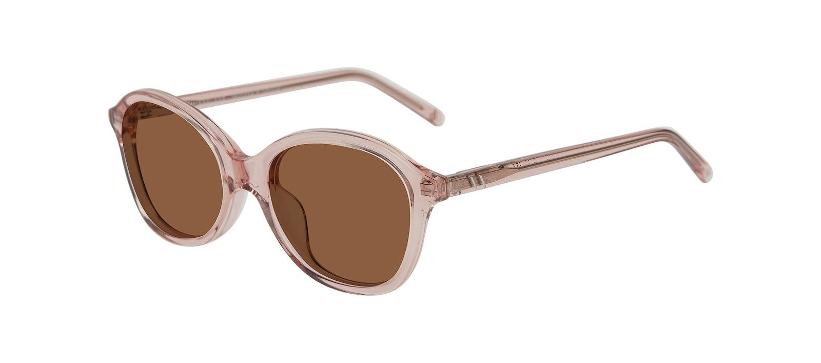 Affordable Fashion Glasses Square Sunglasses Kids Play Junior Pink Tilt