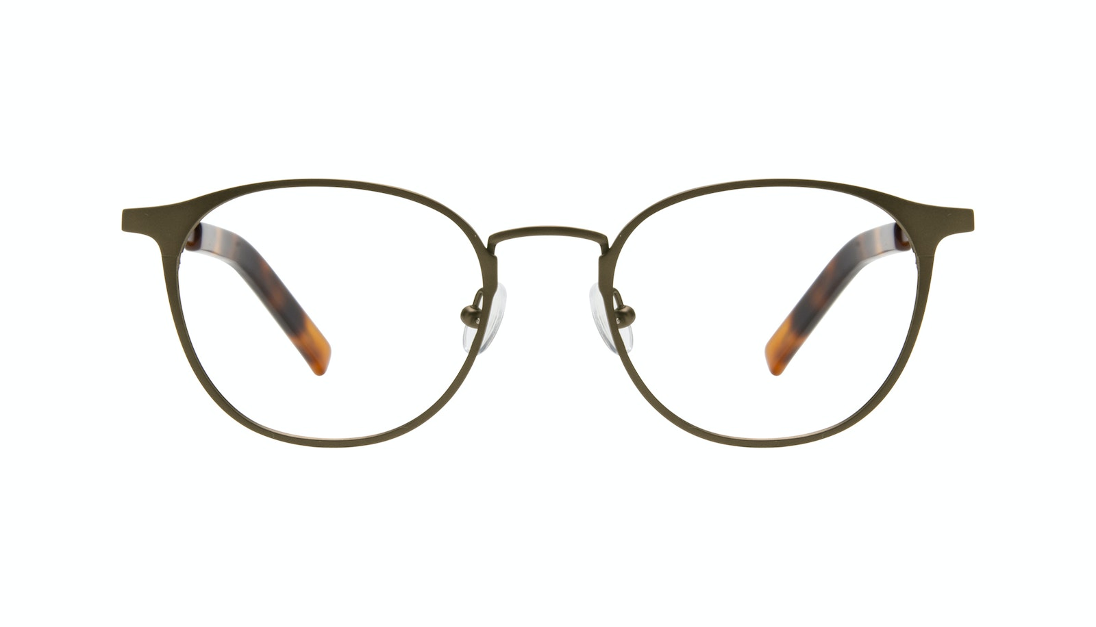Affordable Fashion Glasses Round Eyeglasses Men Point Khaki