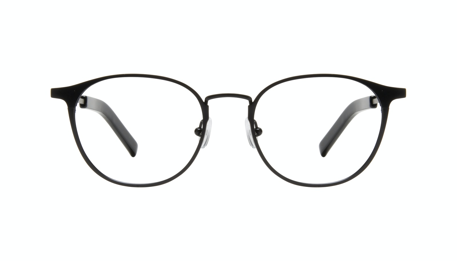 Affordable Fashion Glasses Round Eyeglasses Men Point Onyx Matte