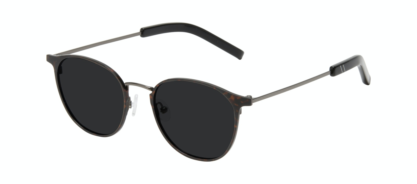 Affordable Fashion Glasses Round Sunglasses Men Point Tortoise Tilt