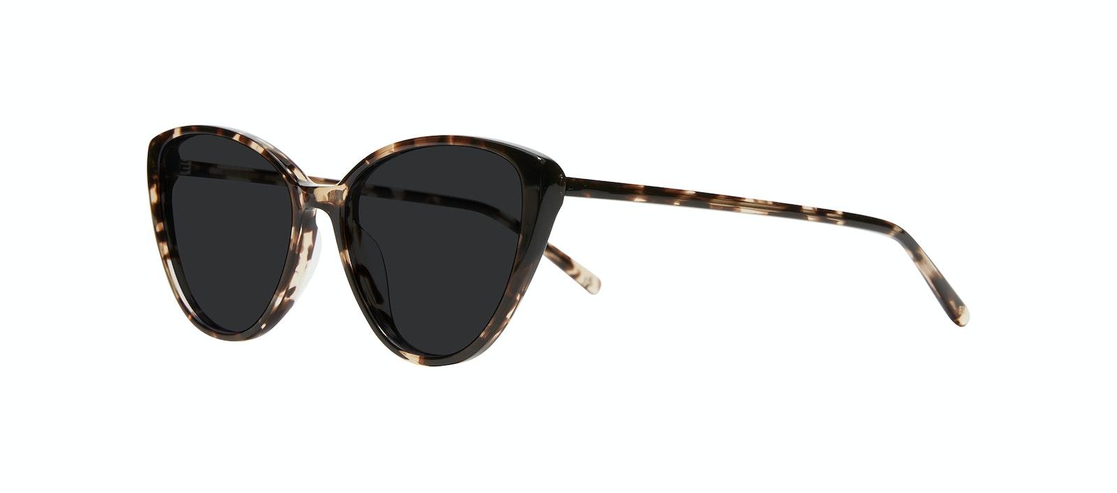 Affordable Fashion Glasses Cat Eye Sunglasses Women Poise XS Leopard Tilt