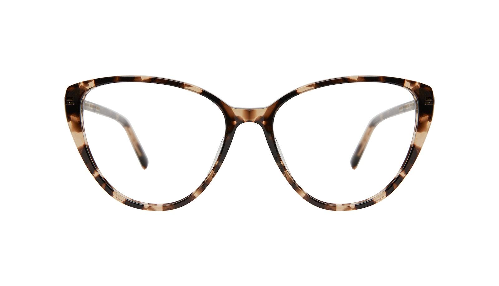 Lunettes tendance Oeil de chat Lunettes de vue Femmes Poise Leopard