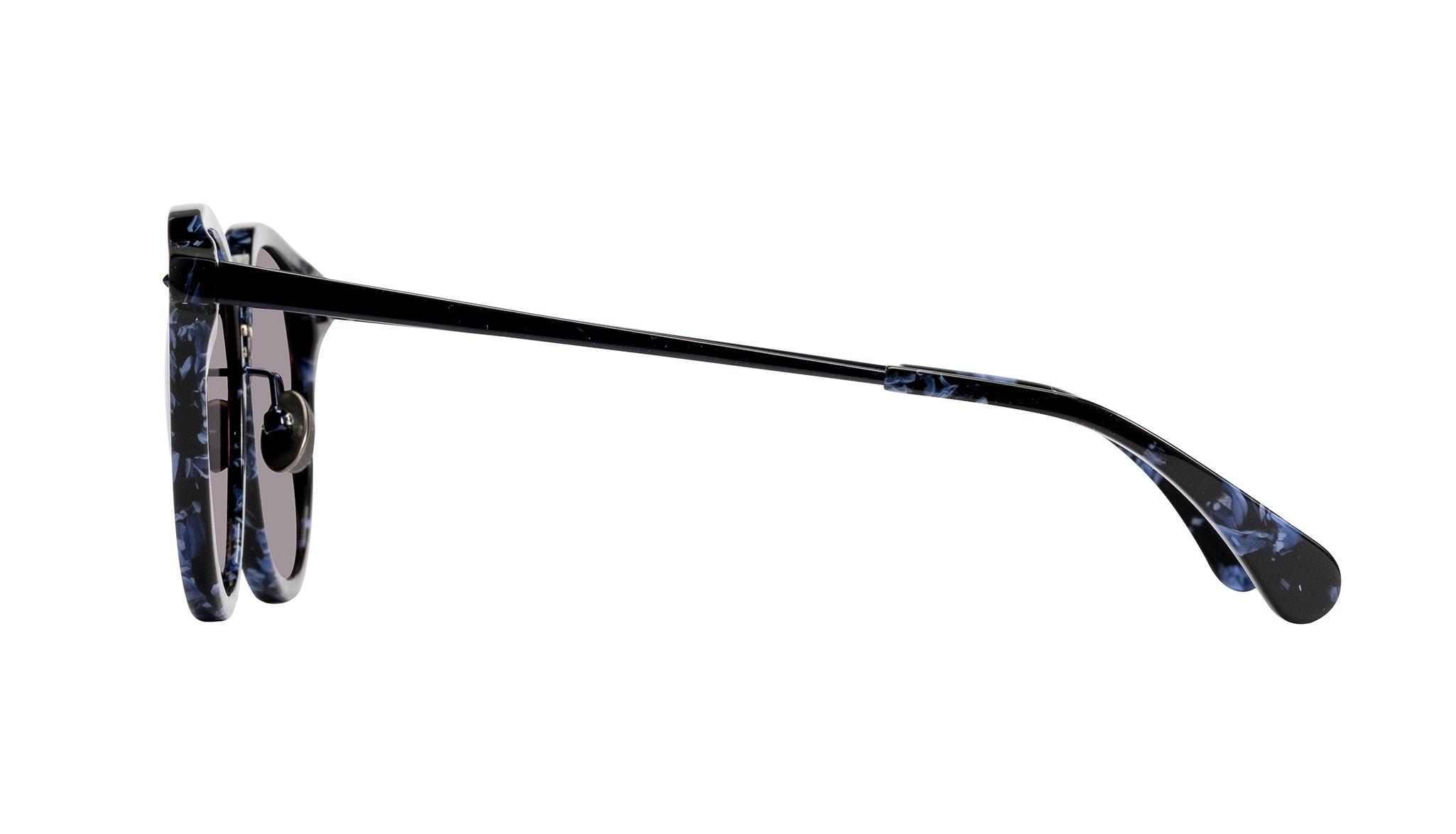 Affordable Fashion Glasses Round Sunglasses Women Poppy Rey Side