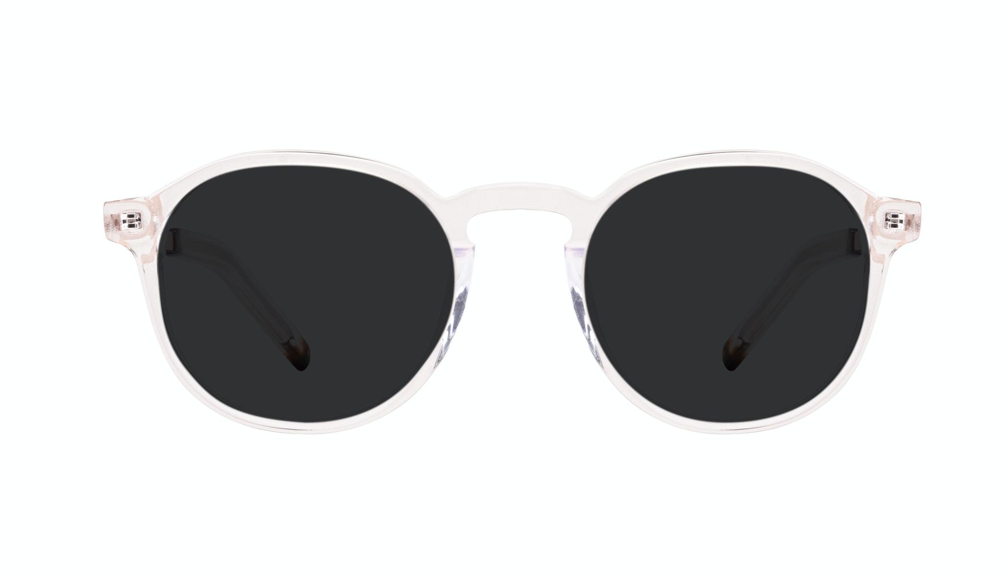 Affordable Fashion Glasses Round Sunglasses Men Prime XL Clear