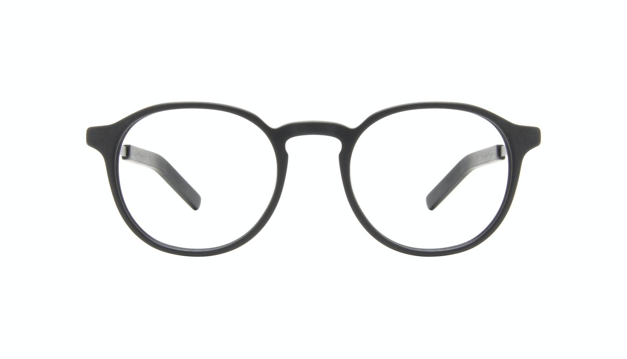 Affordable Fashion Glasses Round Eyeglasses Men Prime XL Matte Black