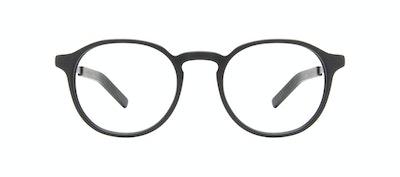Affordable Fashion Glasses Round Eyeglasses Men Prime L Matte Black Front