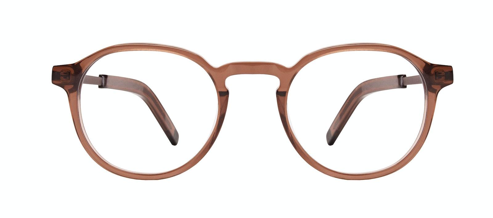 Affordable Fashion Glasses Round Eyeglasses Men Prime XL Terra Front