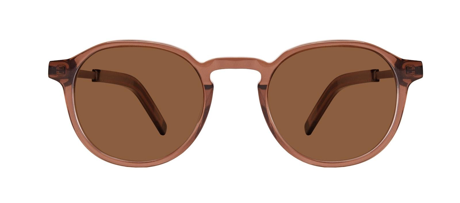 Affordable Fashion Glasses Round Sunglasses Men Prime XL Terra Front