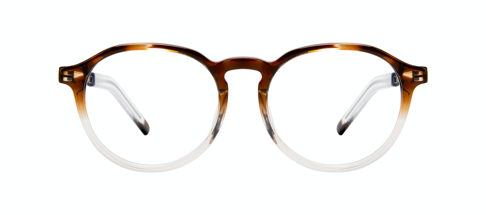 Affordable Fashion Glasses Round Eyeglasses Men Prime Bark Front