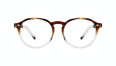 Affordable Fashion Glasses Round Eyeglasses Men Prime Bark Front