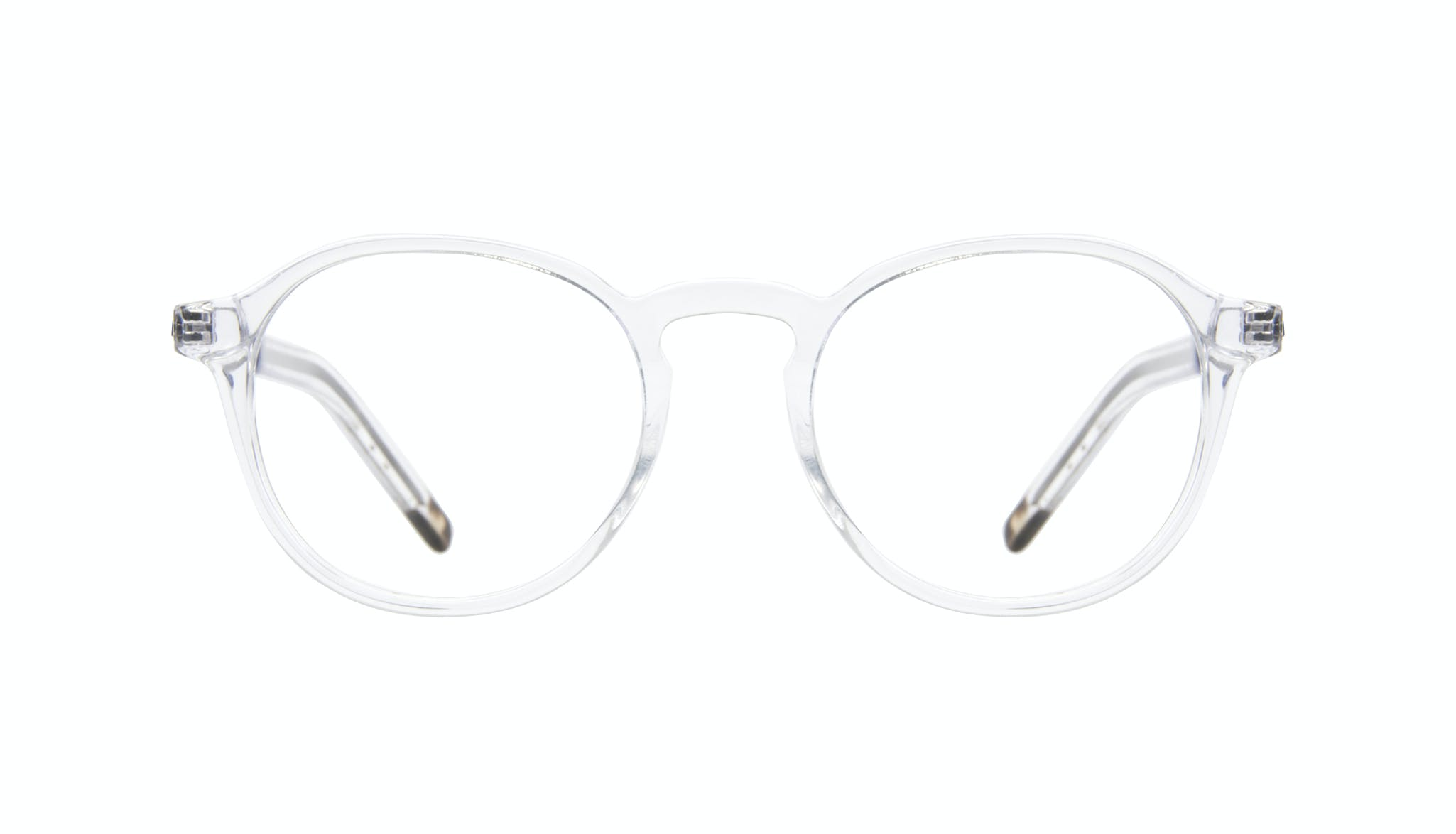 Affordable Fashion Glasses Round Eyeglasses Men Prime Clear Front