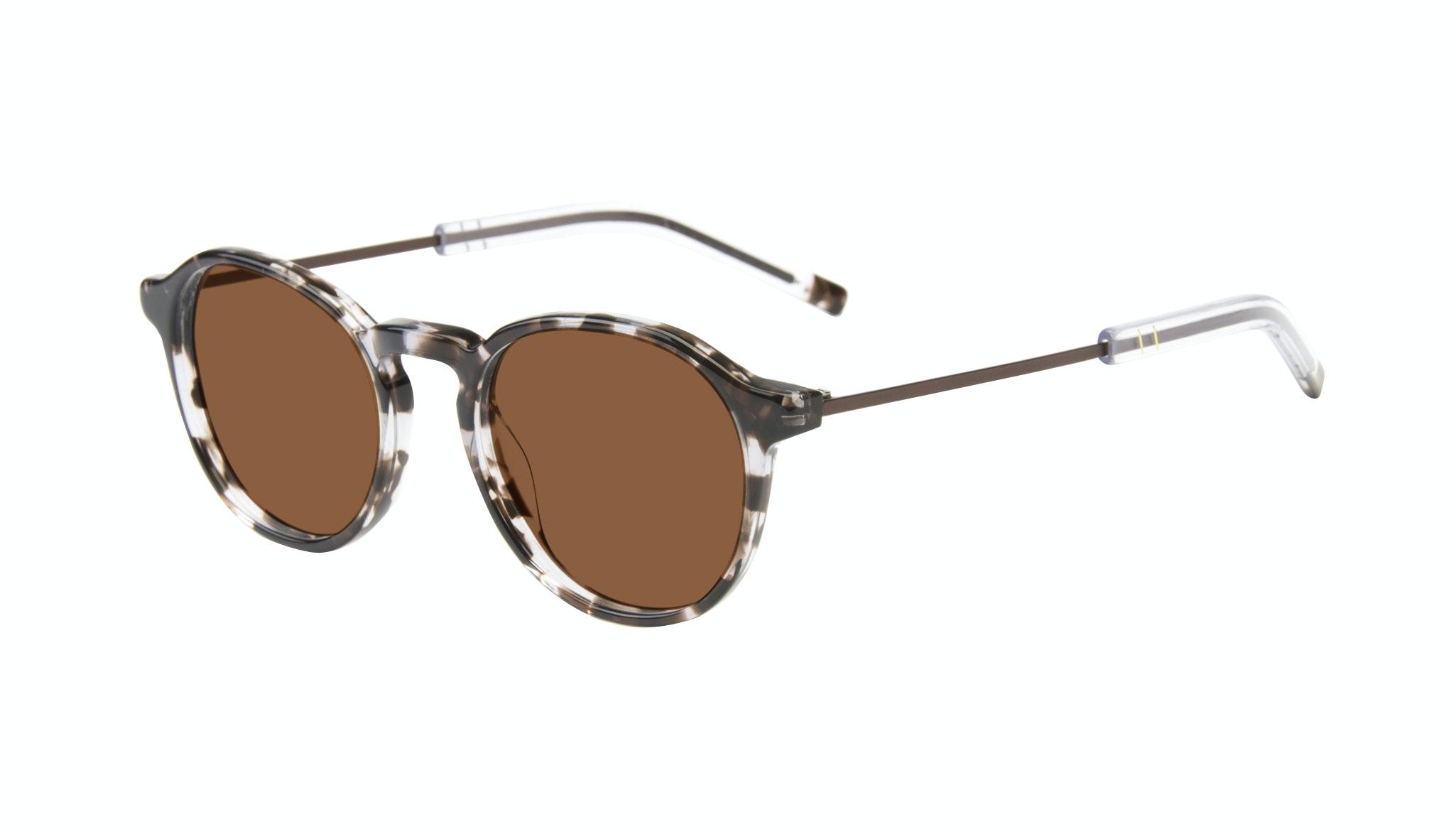 Affordable Fashion Glasses Round Sunglasses Men Prime Mud Tort Tilt